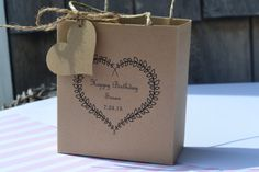 Elegant wedding party favor bags for that fall by SandysCandyBags