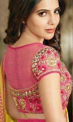 Blouse Back Neck Designs, Netted Blouse Designs, Fancy Blouse Designs, Bridal Blouse Designs, Blouse Designs Catalogue, Designer Blouse Patterns, Saree Blouse Patterns, Stylish Blouse Design, Babe