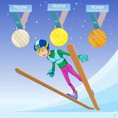 The athlete performs shooting on the target in biathlon. #ski_jumping #sport #Olympic_Games #Korea2018 #vetal_art #art #artist #illustration #digital #comic #cg #cartoon #sketch #fun_art #character