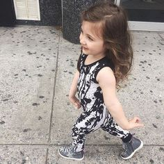 Struttin her stuff  #theminiclassy #ss16 #kidapproved #kidsfashion #streetwear #madeinthemidwest #madeintheusa #picoftheday #swag