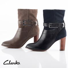 Clarks Autumn/Winter 2014 Collection | Sneak Peek | shoes | boots. I own these bitches! !