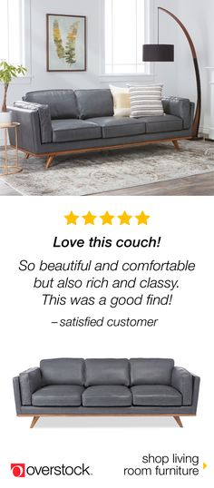 Find the perfect sofa for your space at Overstock.com. Shop our selection of living room furniture by size, material, color, and style to find the best fit at the lowest price. Plus, enjoy free shipping and easy returns. Overstock.com -- All things home. All for less.