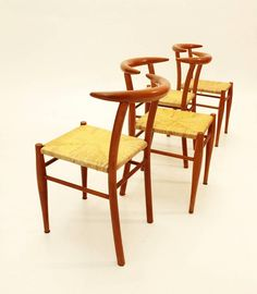 Tesse Dining Chairs by Phillip Starck for Driade, 1989, Set of Four 5