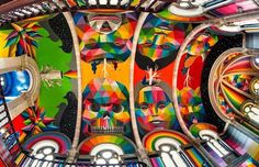 A 100-Year-Old Church in Spain Transformed into a Skate Park Covered in Murals by Okuda San Miguel // Originally designed by Asturian architect Manuel del Busto in 1912 the church of Santa Barbara in Llanera Asturias was abandoned for years and crumbling from neglect. Luckily a group of enterprising individuals lead...