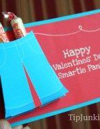 Free printable Valentine's ....Smartie Pants!