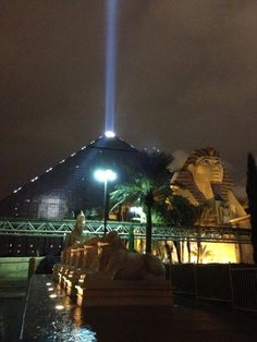 It was hard to find something to like about Vegas, but The Luxor had the best shows and exhibits, bar none.
