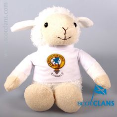 Forsyth Clan Crest Lamb. Free worldwide shipping available