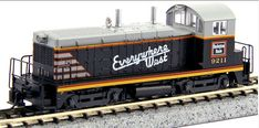 Kato N Scale EMD NW2 Switchers at BLW.