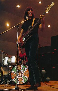 Roger Waters onstage with Pink Floyd