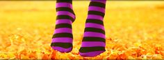 Purple Socks Facebook Cover