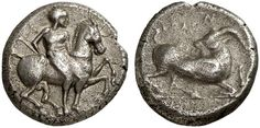 AR Stater. Greek Coin, Cilicia, Kelenderis. About 425-400 BC. 10,53g. SNG von Aulock 5638. VF/nearly VF. Price realized 2011: 260 USD.