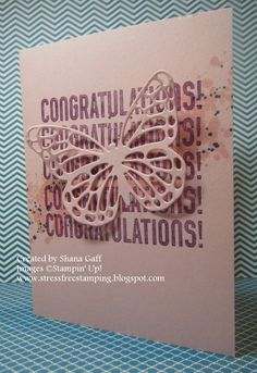 Stress-Free Stamping with Shana: School's OUT for SUMMER!