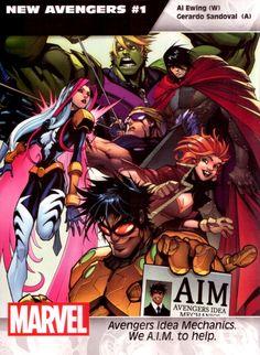 New Avengers #1 - Gerardo Sandoval