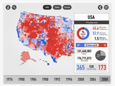 Oct 20, 2012 Electionary App: Browse elections data back to 1976 with Electionary app