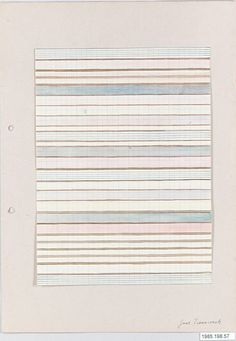 BAUHAUS ARCHIVE Gertrud Preiswerk (German (born Swiss), Basel 1902–1994) 1926-30 Drawing Gift of Jack Lenor Larsen Incorporated, 1985