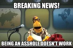 Here's a Muppet News Flash for ya