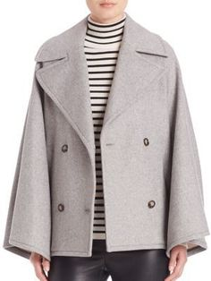 Shop for SET Oversized Double Breasted Swing Coat on ShopStyle.com