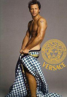 Bon Jovi for Versace