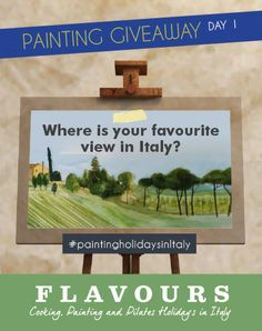 To enter today, you simply need to tell us where is your favourite view in Italy using the hashtag #paintingholidaysinItaly.