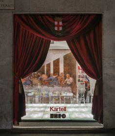 Kartell flashio store Milano