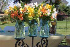 Mason Jar Rustic Wedding Decor