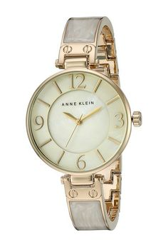 Anne Klein AK-2210IMGB (Gold/Ivory) Watches - Anne Klein, AK-2210IMGB, AK-2210IMGB-000, Jewelry Watches General, Watches, Watches, Jewelry, Gift, - Fashion Ideas To Inspire