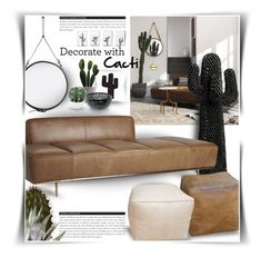 """Decorate With Cacti"" by kat1973 ❤ liked on Polyvore featuring interior, interiors, interior design, home, home decor, interior decorating, CB2, BoConcept, Casarialto and Alessi"