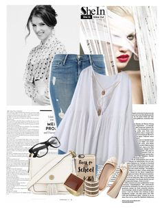 """""""Sheinside Contest"""" by lula-l ❤ liked on Polyvore featuring Frame Denim, Tory Burch, Aéropostale, Casetify, Dorothy Perkins and MANGO"""