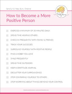 Feeling low? Here are the top do's & don'ts for staying positive