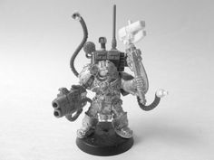 Iron Guard Allies: Mechanicus Inquisitor Conversion Space Marines Warhammer 40k