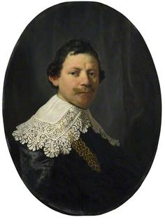 Portrait of Philips Lucasz. by Rembrandt van Rijn Collection: The National Gallery, London