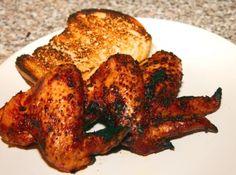 Grillezett csipős csirkeszárny recept