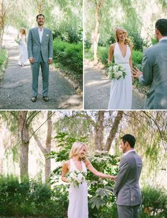 Like the color of this suit and how it compliments the white of the brides dress. Not a fan of the cut and fit of the suit though.