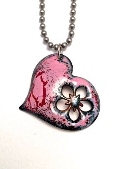 Heart Necklaces and Earrings