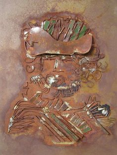 Hommage aan Rembrandt Rembrandt, Metal Working, Coins, Personalized Items, Metalworking, Rooms