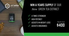 Win a Years Supply of Green Tea Extract