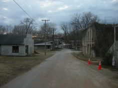 More than 20 buildings line the streets of East Calico Rock, solemn reminders of…