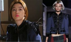 Jun Ji Hyun's Fashion Style – You Who Came From the Star Episode 15 Thom Browne Cardigan, Love From Another Star, Female Fashion, Womens Fashion, Jun Ji Hyun, Korea Fashion, Korean Drama, Everyday Fashion, Outfit Of The Day