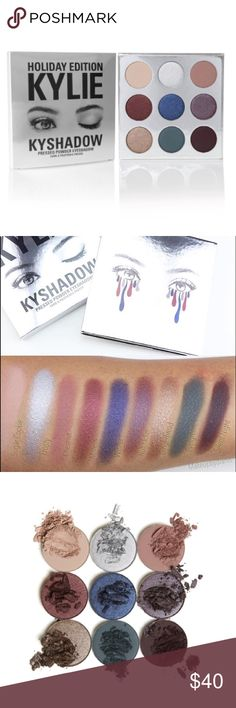 Kyshadow Holiday Palette Limited Edition Sold Out Sold out online authentic Kyshadow palette.  Limited Holiday Edition.  9 colors.  Unused. Makeup Eyeshadow