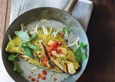 Banh Xeo (Crispy Rice Pancake) | Vegetarian Times