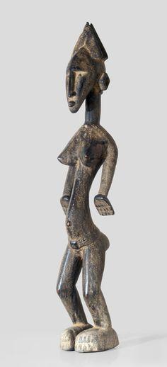 A female Bamana Kala sculpture, search www.wolfgang-jaenicke.blogspot.com (the headdress of Kala sculptures)