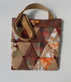 Quilted, Brown Tote, Shoulder Bag, Handbag, Tablet Bag £20.00