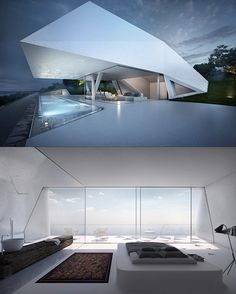 This is Not a Spacecraft, Just a Real Futuristic Home - TechEBlog
