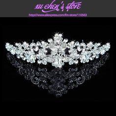 Butterfly bridal crown headband crystal rhinestone tiara crown bridal headwear-in Hair Jewelry from Jewelry on Aliexpress.com