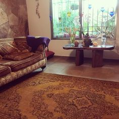 Happy customer from Mexico with this yellow vintage rug. Vintage Rugs, Yellow, Yellow Carpet, Rugs, Vintage, Home, Yellow Rug, Carpet, Home Decor