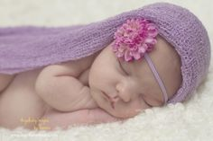 newborn photography, newborn images, angelbaby images, lavender, purple, flowers, girl www.angelbabyimages.com