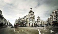 İspanyadaki favori caddem Alcalá - İspanya'da hangi caddesin ?