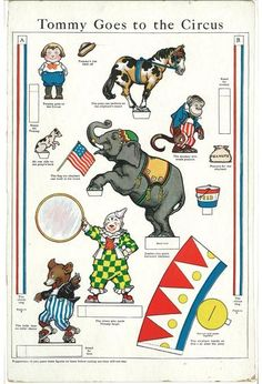 SOLD-Sugg-Tommy Goes to Circus, G. Jacobs 1920-ish