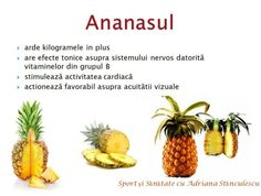 Ananasul Health Options, For Your Health, God Is Good, Metabolism, Good To Know, Health Benefits, Pineapple, Good Food, Health Fitness