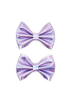 Product Name:Holographic Bow Hair Clip Set, Category:ACC, Price:2.73